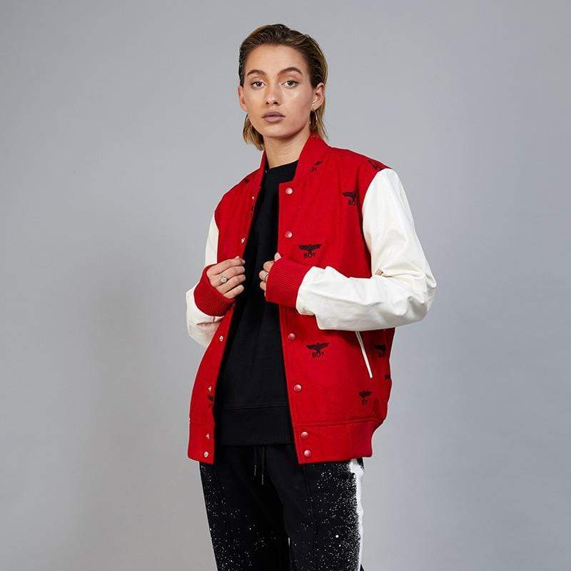 BOY LONDON JACKET BOY REPEAT VARSITY JACKET