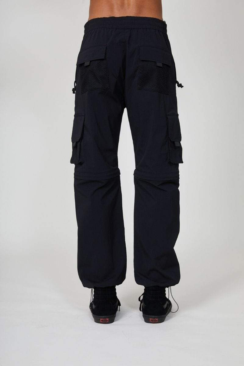 BOY LONDON JOGGERS BOY DRIP CARGO PANTS - BLACK