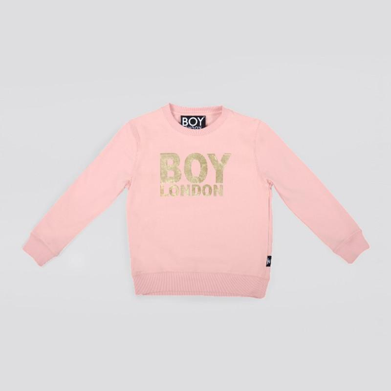 BOY LONDON KIDSWEAR 3-4 YEARS / PINK BOY LONDON KIDS SWEATSHIRT