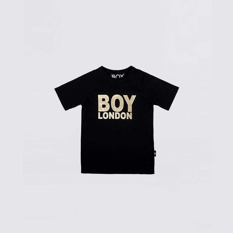 BOY LONDON KIDSWEAR 3-4 YEARS / BLACK/GOLD BOY LONDON KIDS T-SHIRT