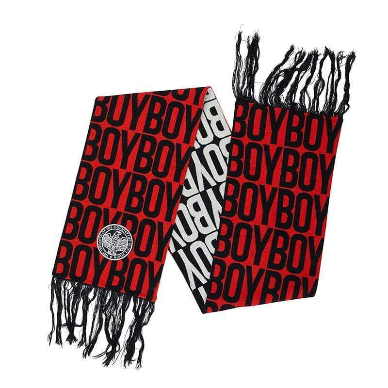 BOY LONDON SCARF ONE SIZE BOY AVER SHORT SCARF