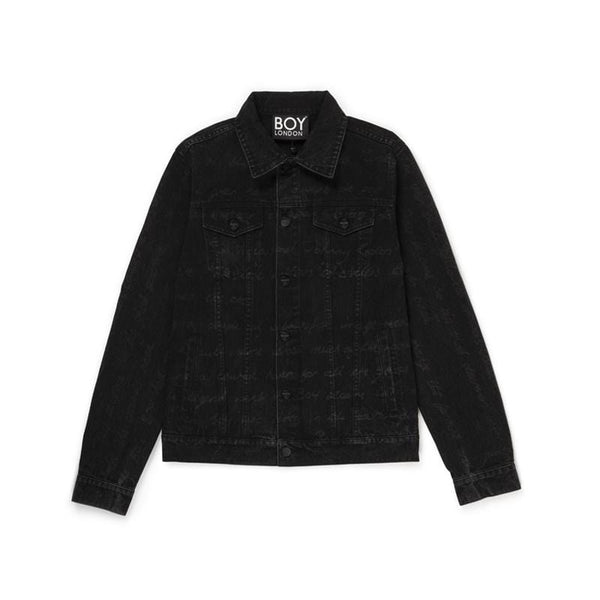 BBSG HISTORY DENIM JACKET BLACK
