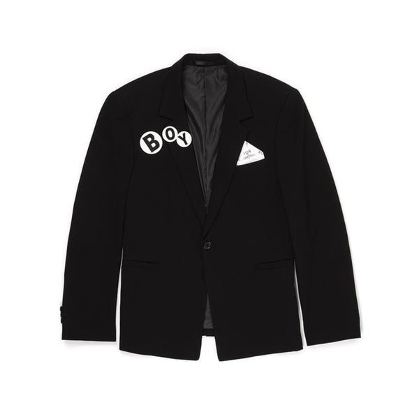 BBSG RETRO BLAZER BLACK