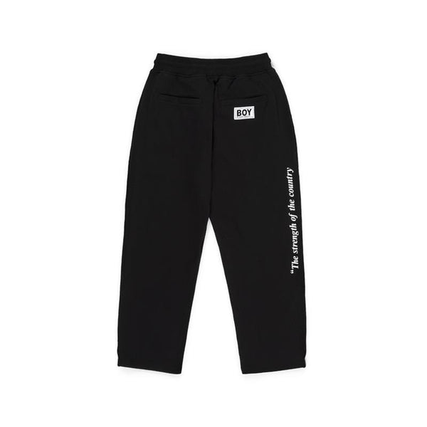 BBSG STRENGTH JOGGER BLACK