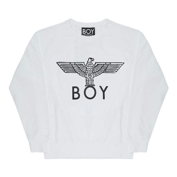boy-london-shop SWEATSHIRT BOY EAGLE SWEATSHIRT - WHITE