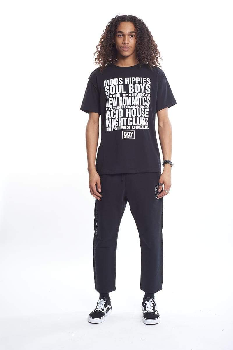 boy-london-shop T-SHIRT BBSG MODS TEE BLACK