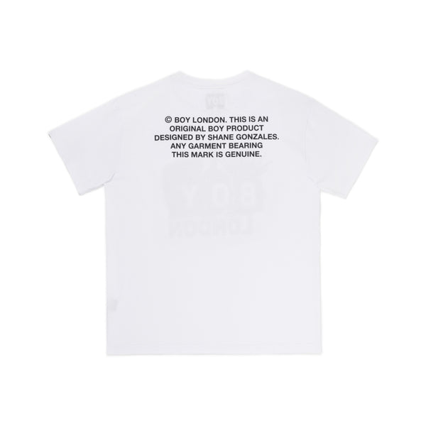 boy-london-shop T-SHIRTS BBSG ROCKERS TEE  WHITE