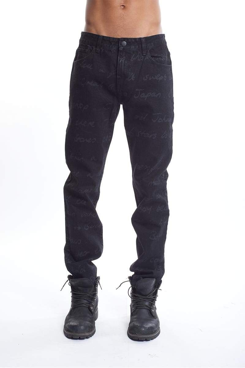 boy-london-shop TROUSERS BBSG HISTORY DENIM JEAN BLACK