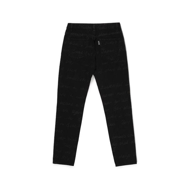 BBSG HISTORY DENIM JEAN BLACK
