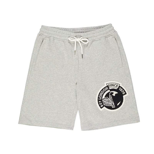BOY LONDON SHORTS BOY BADGE SHORTS - GREY