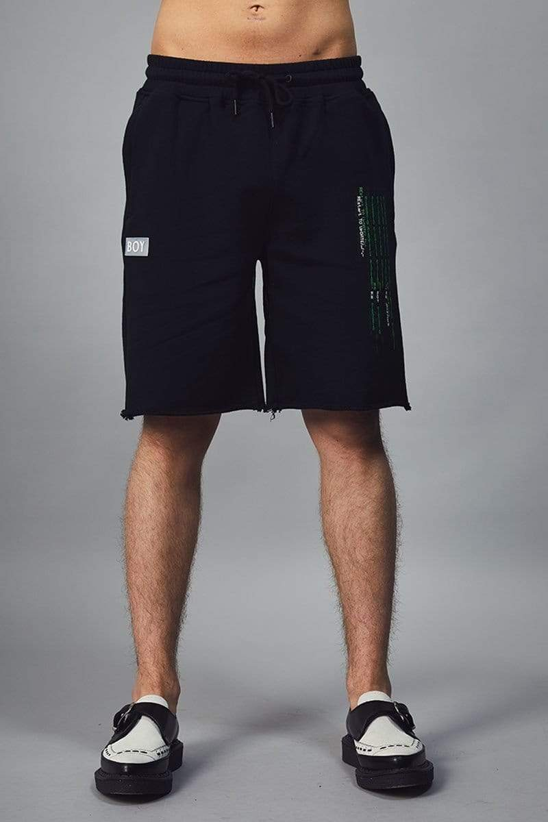 BOY LONDON SHORTS BOY CYBER SHORTS - BLACK