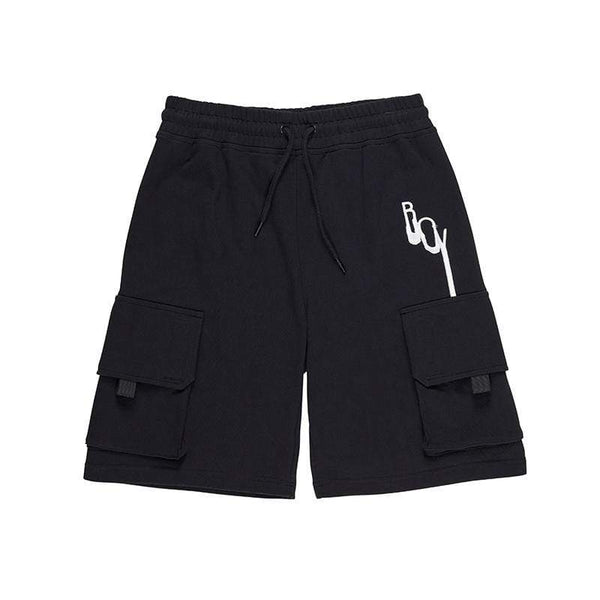 BOY LONDON SHORTS BOY DRIP CARGO SHORT - BLACK