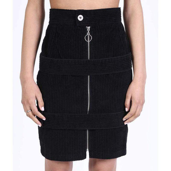 BOY LONDON SKIRT BOY BY BOY - BONDAGE SKIRT - CORDUROY