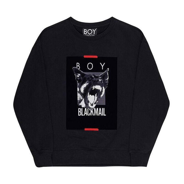 BOY LONDON SWEATSHIRT BOY BLACKMAIL SWEATSHIRT