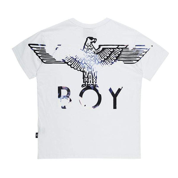 BOY LONDON T-SHIRT BOY EAGLE FLOCK TEE