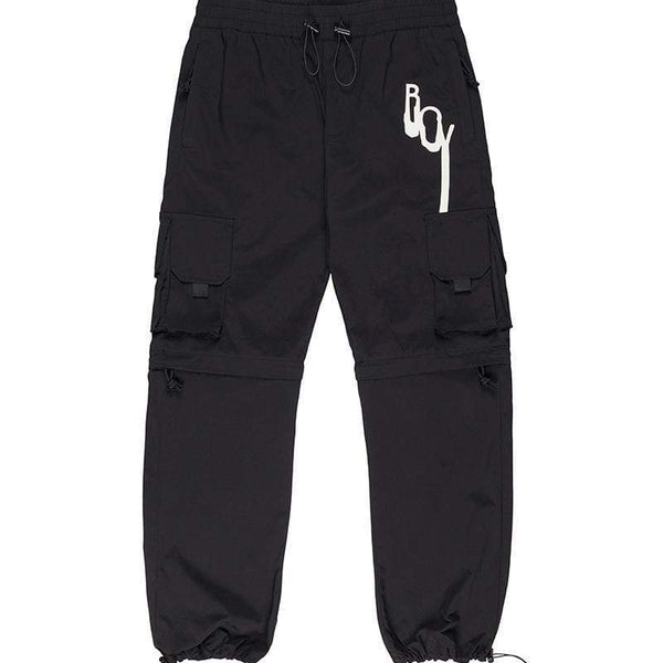 BOY LONDON TROUSERS BOY DRIP CARGO PANTS - BLACK