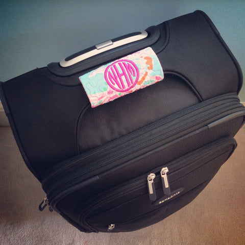 Monogram Lilly Pulitzer Luggage Wrap