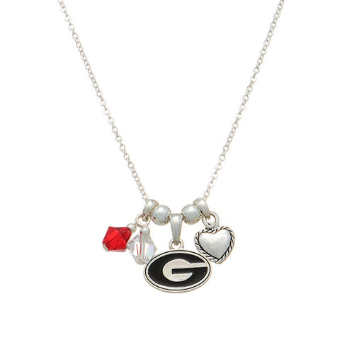 University of Georgia Love Necklace