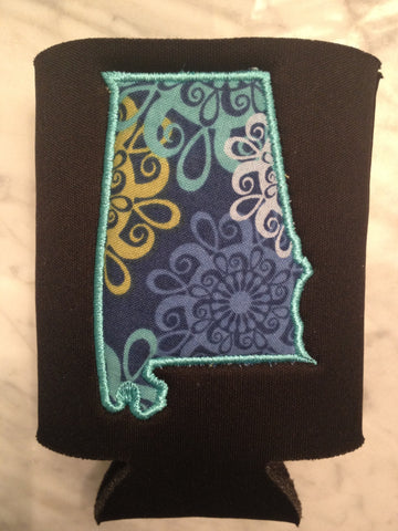 Preppy Alabama Koozie - Pick your fabric!