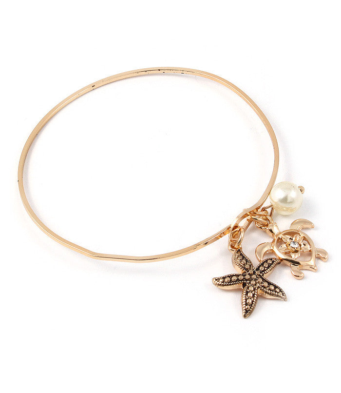 Turtle and Friends Nautical Bracelet