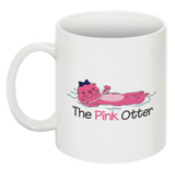 The Pink Otter Coffee Mug