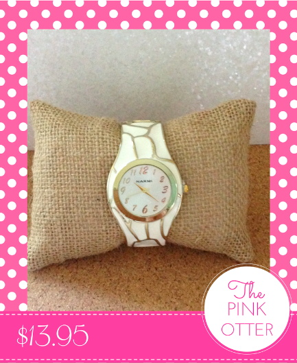 Ivory Enable Bangle Watch