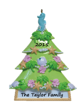Sea Soiree Christmas Tree Ornament