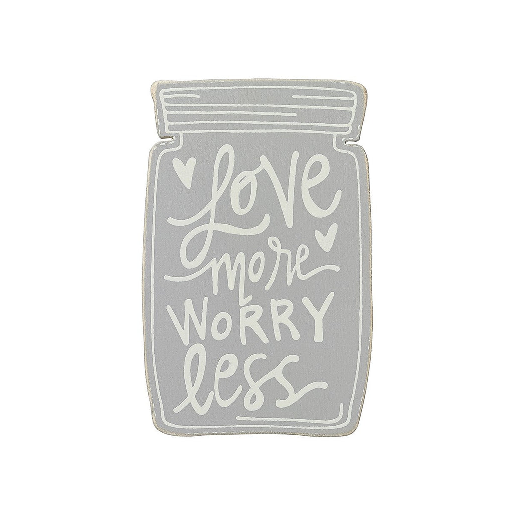 Love More, Worry Less Magnet