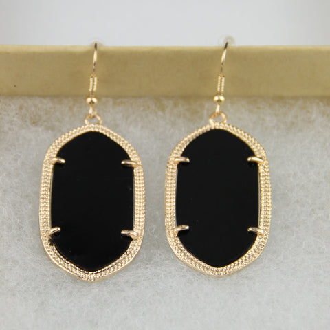 Daniella Inspired Earrings - Black