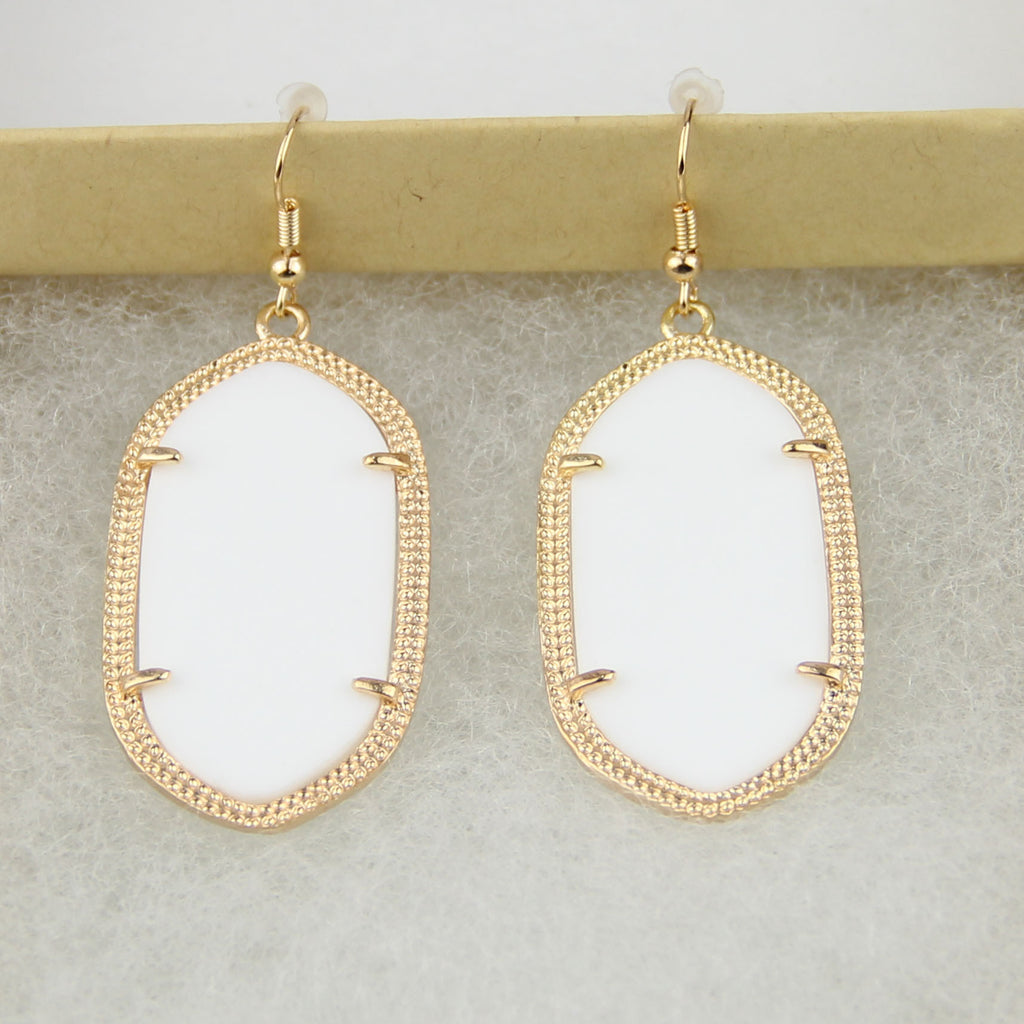 Daniella Inspired Earrings - White