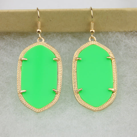 Daniella Inspired Earrings - Green