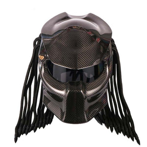 Iron Warrior Predator Motorcycle Helmet