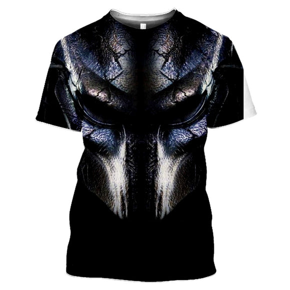 Predator Black Blue T-Shirts