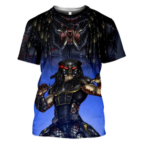 Predator Dark Blue T-Shirts