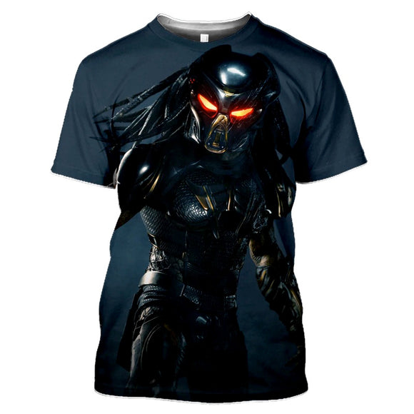 Predator Grey Blue T-Shirts