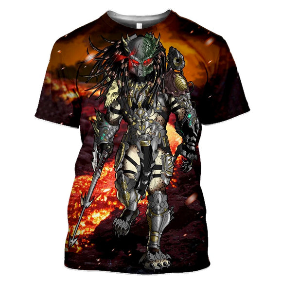 Predator Red Lava T-Shirts