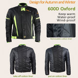 Winter Warm Motorcycle Jacket