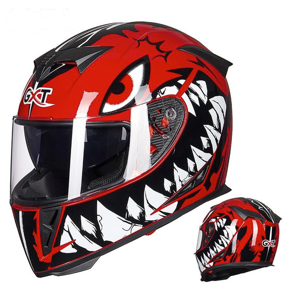 Red Eye DOT certified Motorcycle Helmets