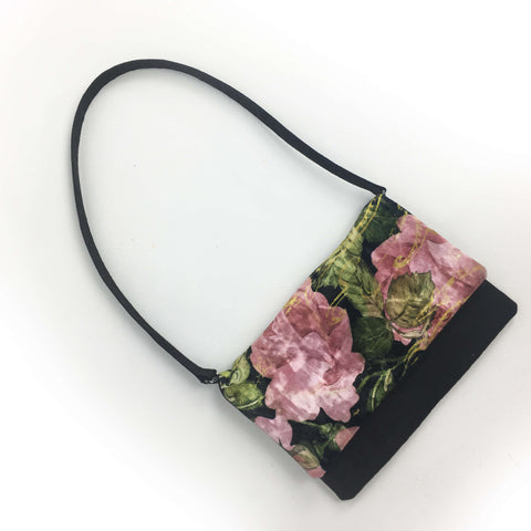 Scroll Rose Clutch/Crossbody/Shoulder Bag - UndertheLeafDesigns.com