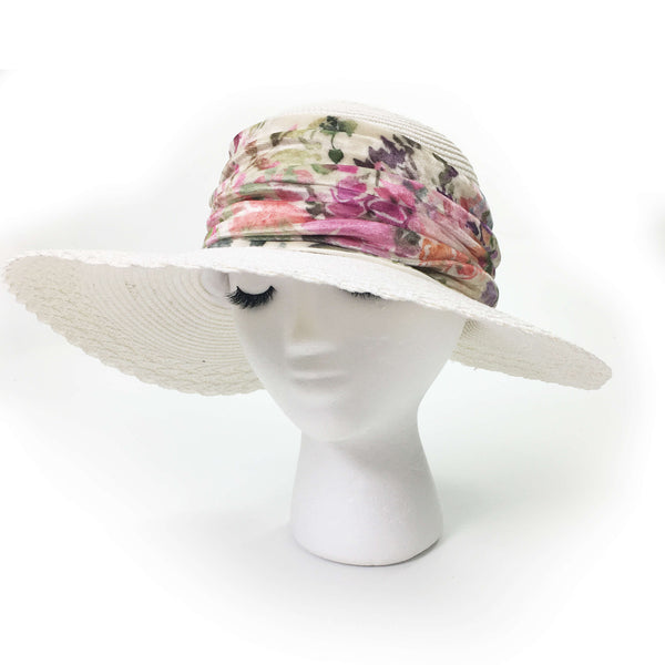 Pastel Gardens Neck Scarf/FaceCover/Headband/HatBand/ - All season