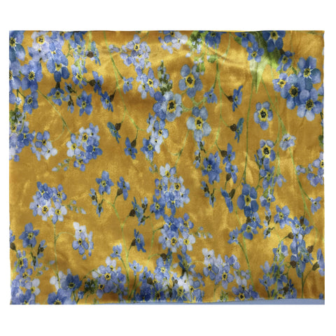 Marigold Forget Me Nots Scarf