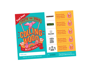 The Collingwood Beer Trail Pass