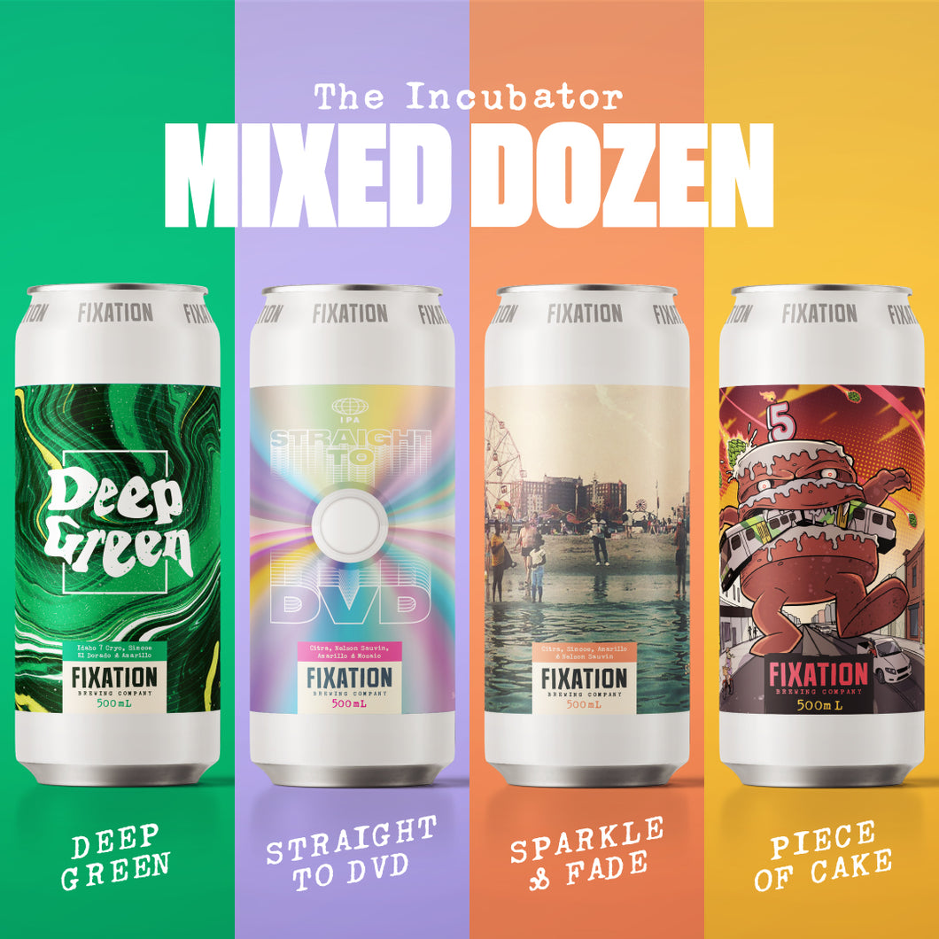 INCUBATOR MIXED DOZEN VOL.06