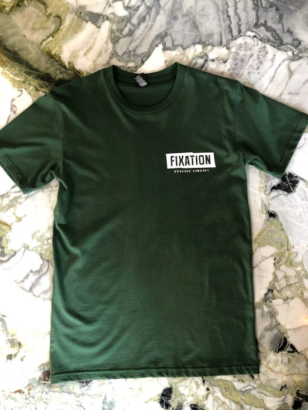 Fixation Brewing Tee – Green
