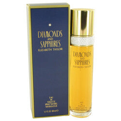 DIAMONDS & SAPHIRES by Elizabeth Taylor Eau De Toilette Spray 3.4 oz (Women)