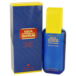 AQUA QUORUM by Antonio Puig Eau De Toilette Spray 3.4 oz (Men)