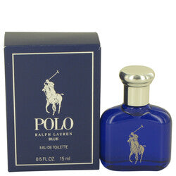 Polo Blue by Ralph Lauren Eau De Toilette .5 oz (Men)