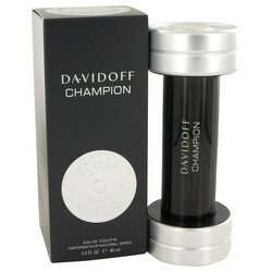 Davidoff Champion by Davidoff Eau De Toilette Spray 3 oz (Men)