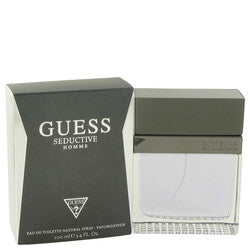 Guess Seductive by Guess Eau De Toilette Spray 3.4 oz (Men)