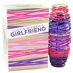 Girlfriend by Justin Bieber Eau De Parfum Spray 3.4 oz (Women)